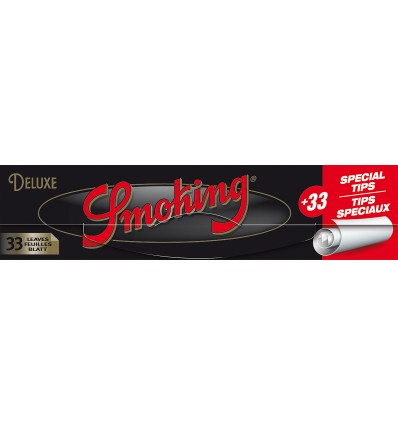 กระดาษ smoking deluxe king size + tips